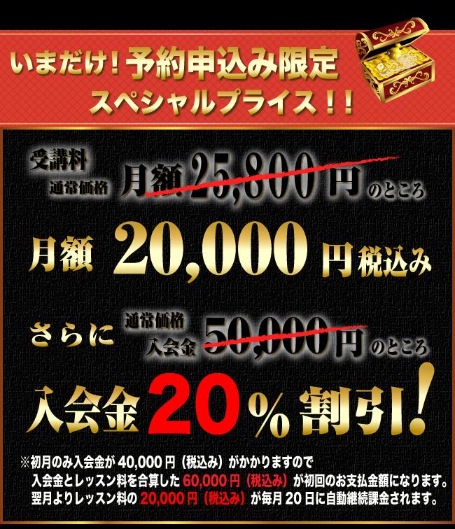特別価格!いまだけ52800円